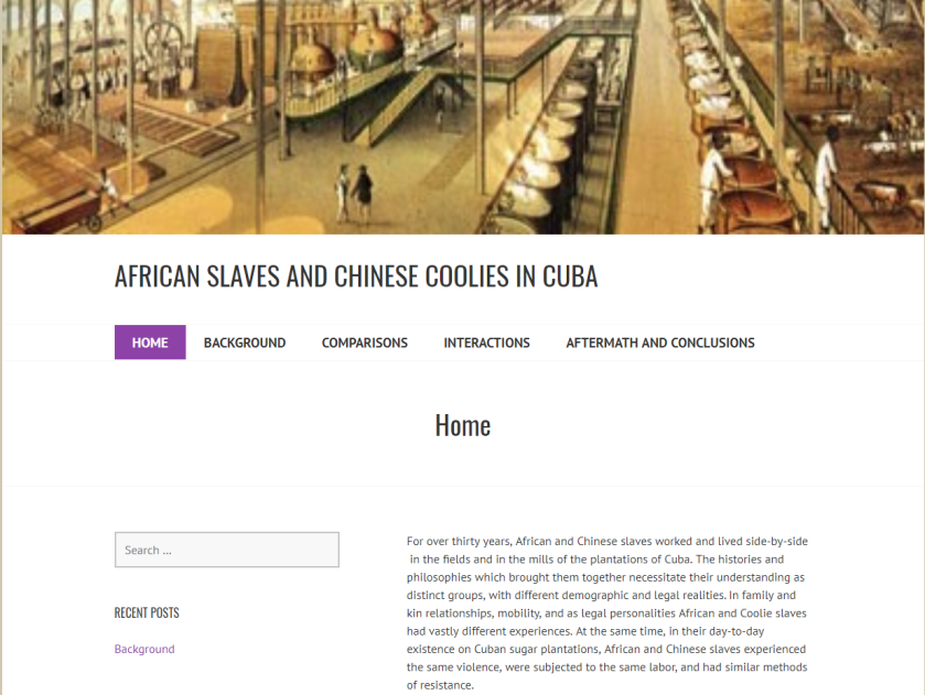 Africans and Chinese Laborers project 1