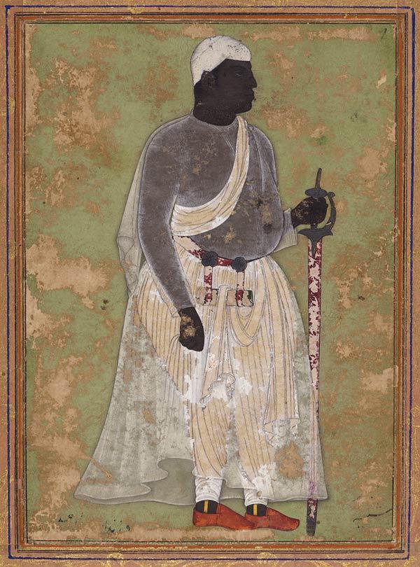 malik ambar portrait